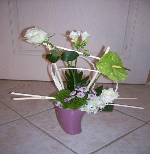 Art Floral Photos Des Compositions Florales Asym Trie