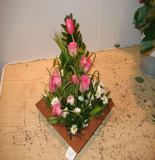 art floral photos des compositions florales framboises d 39 ete conseils en d coration florale. Black Bedroom Furniture Sets. Home Design Ideas