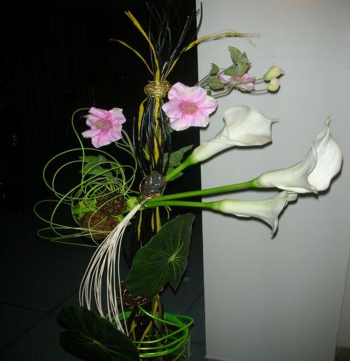 art floral photos des compositions florales en hauteur conseils en d coration florale. Black Bedroom Furniture Sets. Home Design Ideas