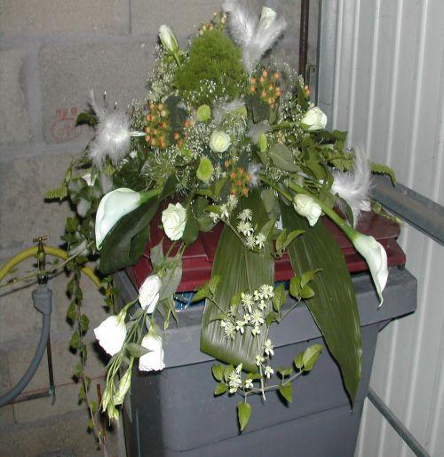 Art floral photos des compositions florales mariage conseils en d coratio - Composition de mariage ...