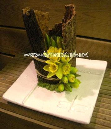 Art Floral Photos Des Compositions Florales Rouleau D 39 Automne Conseils En D Coration Florale